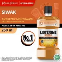 LISTERINE® Siwak Mouthwash / Obat Kumur 250ml