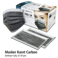 Onemed masker medis karbon aktif 4ply isi 50pcs