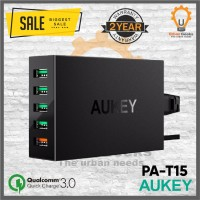 Aukey Charger 5 Ports 54W QC 3.0 & AiQ Quick Charge alt Anker