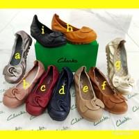 Sepatu Clarks bow wanita/Sepatu Clarks/7Sepatu wanita