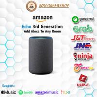 ALL NEW - AMAZON ECHO 3rd Gen Generasi 3 Smart speaker with Alexa