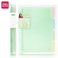 Deli kertas binder file Loose leaf ukuran B5 isi 60 halaman QHB560