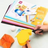 Deli Kertas Origami A4 ukuran 21,5x30,2cm/ 30kertas/pack 10Warna 74804