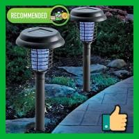 Lampu Taman Anti Nyamuk Tenaga Surya - Solar Mosquito Lamp Solar