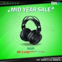 Razer Nari Wireless / Wired THX Spatial Audio Gaming Headset