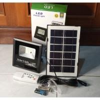 Lampu Sorot LED 15 Watt Solar Cell / Panel Surya Matahari