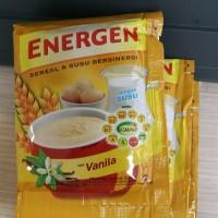 energen vanila/ minuman energen rasa vanila 1 renceng ( 10 sachet)