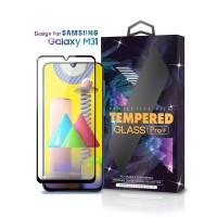 Tempered Glass SAMSUNG Galaxy M31 Full Cover Black -Premium Glass Pro