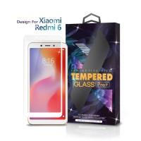 Tempered Glass Xiaomi Redmi 6 / 6A Full Cover White - Glass Pro