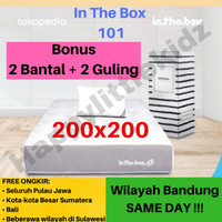 Kasur Matras Springbed Inthebox In The Box 101 200x200 (Super King)