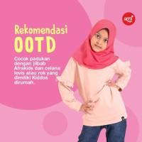 Sweater Anak Afrakids Nyaman dan Cantik SA01 BabyPink - Size M
