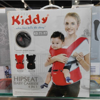 Kiddy Gendongan bayi Baby carrier hipseat 4 in 1