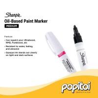 Sharpie Oil-Based Paint Marker White Medium Point