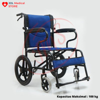 Kursi Roda Travel Juara JM 05 – Wheel Chair Traveling Lipat Ringan