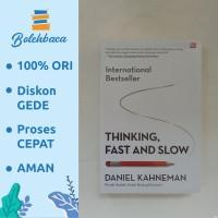 Thinking fast and slow oleh daniel kahneman - Gramedia