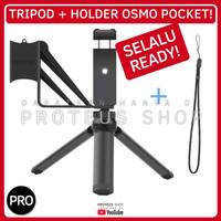 ✅ PAKET TRIPOD PHONE HOLDER HP DJI Osmo Pocket HOT COLD SHOE BRACKET