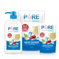 Pure Baby Liquid Cleanser 700 ml / Sabun Cuci Botol / Pure BB Liquid C