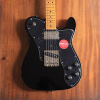 Squier Classic Vibe 70s Telecaster Custom Maple Fingerboard - Black