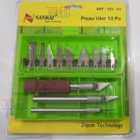 NANKAI COMPLATE Craft Cutter 13 in 1 Pisau Presisi Cutting Pen Stiker