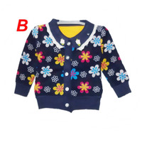 Sweater Jaket Baju Hangat Anak Bayi Perempuan GIRL 01