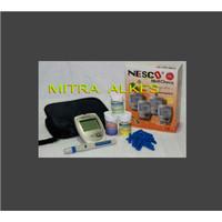Alat NESCO 3 in 1 Cek Gula Darah - Asam urat - Colestrol