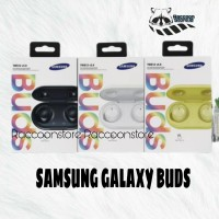 SAMSUNG GALAXY BUDS HEADSET BLUETOOTH BY AKG WIRELESS EARPHONE SAMSUNG - Putih
