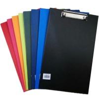 Clip Board / Papan Ujian Plastik Ukuran Folio (F4) Bantex 4205