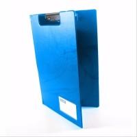 Clip Board / Papan Ujian Plastik Uk. Folio (F4) + Cover Bantex 4211