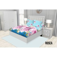 SPREI KING FITTED CALIFORNIA 180X200 ROSEA