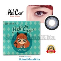 Softlens HoliCat FUNKY CAT - Funky Blue | Normal s/d -4.75 | Classic - - 1.00