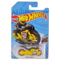 Hot Wheels Moto Street Stealth Kuning HW Moto Mainan Motor Hotwheels
