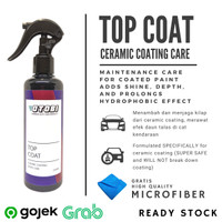 Top Coat - Spray Untuk Perawatan Ceramic Coating Maintenance Care