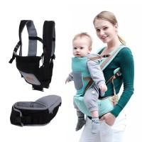 5in1 Gendongan Bayi Depan Hipseat / Baby Carrier / Hipseat Bayi Tuturu