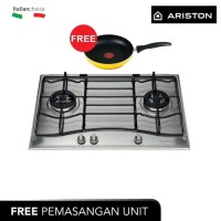ARISTON Kompor Gas Tanam 75 Cm PC720RTX, 2 Pembakar Gas (Grade B)