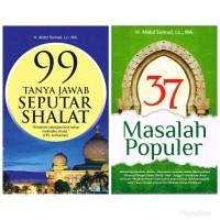 PAKET 2 BUKU 37 MASALAH POPULER & 99 TANYA JAWAB SEPUTAR SHALAT