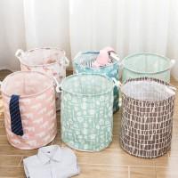 JG - Keranjang Cucian Baju Kotor Lipat Laundry Bag