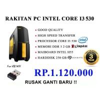 RAKITAN PC INTEL CORE I3 550 RAM 2 GB HDD 250 GB
