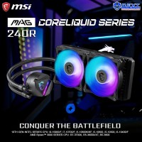 MSI MAG CORELIQUID 240R AIO RGB CPU Liquid Cooler