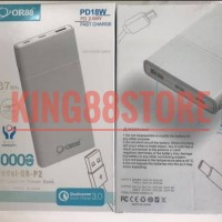 POWER BANK OR88 10000 MAH OR-P2 ORIENS88 FAST CHARGE - Putih