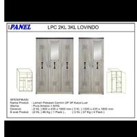 Lemari Pakaian 2 Pintu 3 Pintu Big Panel Lovindo