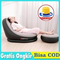 Serbaguna Sofa Angin kursi angin Ottoman Kursi Lazy Sofa - Cokelat