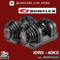 BOWFLEX ADJUSTABLE DUMBELL 40KG 40 KG DUMBEL BOW FLEX GENETIX FIT