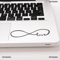 Stiker Decal Motif Love Infinity Bahan Vinyl untuk MacBook Laptop