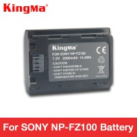 Viral KingMa Baterai Kamera Sony A9 A7R III A7 III - NP-FZ100 - Black