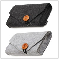 Multi-function Power USB Date Cable Earphone Storage Bag Mini