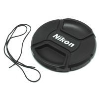Viral Penutup Lensa Kamera Nikon Lens Cap 72mm - Black