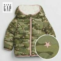 Jaket Winter Anak /Size 12-18m sd 5Thn( Motip Army)