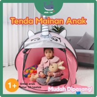 Tenda Mainan Anak Unicorn Berkualitas - Pink - Lucu - Unicorn