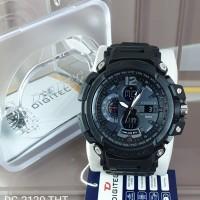 Jam tangan Pria Original Water resist alarm stopwatch Digitec 2120