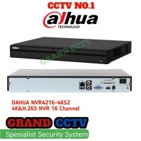 Nvr Dahua 16 Channel 4K NVR4216-4KS2 Non POE Original Garansi 2 Tahun